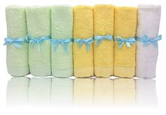 Bamboo Baby Washcloths Soft Organic 7 Pack Perfect for Baby Bathing Skin Care. For price & product info go to: https://all4babies.co.business/bamboo-baby-washcloths-soft-organic-7-pack-perfect-for-baby-bathing-skin-care/