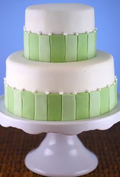 Green vertical stripes by the-crafty-penguin, via Flickr