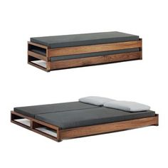 Stackable Guest Bed by Hertel Klarhoefer Industrial Design | Suite NY....can I make this??