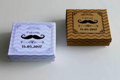 Μπομπονιέρα - κουτί με θέμα little man Barware, Coasters, Coaster, Tumbler