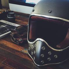 #caferacer helmet discover #motomood