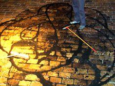 Trabajo en pareja.  Taller del artista Mani. Artista y Tallerista: Maria Egea. Maastrich. Holanda.