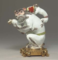 Monkey Teapot Meissen Porcelain Manufactory, Germany, 1740 Christie's