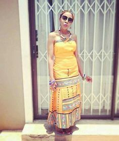 African Fashion Traditional, South African Fashion, African Print Fashion, Traditional Outfits, Xhosa Attire, African Attire, African Wear, African Women, African Print Dresses