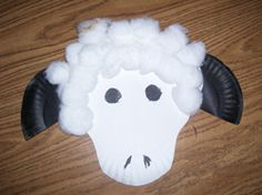 Paper Plate Sheep