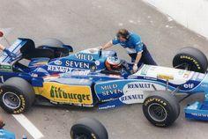 Michael Schumacher (GER) (Mild Seven Benetton Renault), Benetton B195 - Renault RS7 3.0 V10,1995