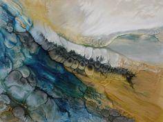 """Saatchi Art Artist Lia Melia; Painting, """"Pebbles On The Beach, sold"""" #art"""