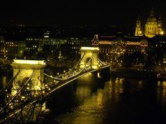 Lánchíd, one bridge of Budapest