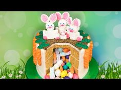 Video Easter Candy Pinata Cake From Cookies Cupcakes And Cardio 09:02 Easter Recipes Musicas e Filmes