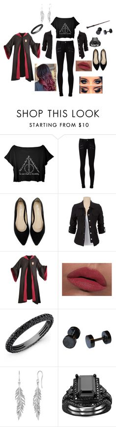 """""""Untitled #257"""" by destiny753 ❤ liked on Polyvore featuring beauty, Paige Denim, LORAC and Pieces"""