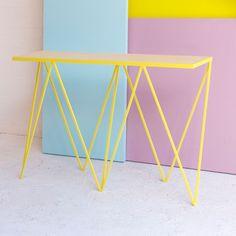 &new Giraffe Console Table-Yellow | &new-giraffe-console-Yellow | £672.00