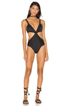 d8dc468af5 Shop for F E L L A Don Draper Swimsuit in Black at REVOLVE.