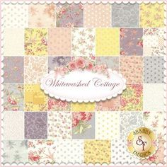 3 Sisters for Moda: Whitewashed Cottage   Shabby Chic quilting fabric