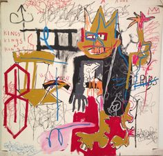 Remember people, the T in Basquiat is silent! @agotoronto Jean-Michel Basquiat