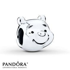 PANDORA Charm Disney, Winnie-The-Pooh  Portrait/St. Silver