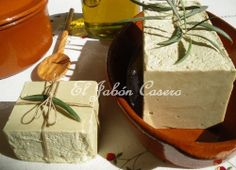 El Jabón Casero: Jabones rústicos de Aceite de Oliva