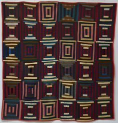 Cool Courthouse Steps Amish quilt Antique Quilts, Vintage Quilts, Amish Country, Country Life, String Quilts, Log Cabin Quilts, Amish Quilts, Contemporary Quilts, Quilt Making