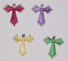 plastic canvas ribbon angel free pattern | Non Knitting for Christmas