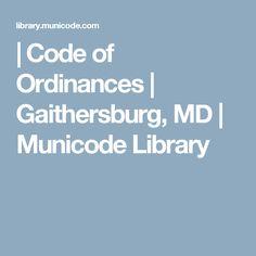 Code of Ordinances Self Defense Laws, Maryland, Coding, Programming