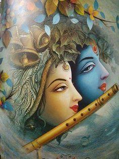 Arte Krishna, Lord Krishna Images, Radha Krishna Pictures, Radha Krishna Photo, Radha Krishna Love, Lord Krishna Wallpapers, Radha Krishna Wallpaper, Ganesha Painting, Indian Folk Art