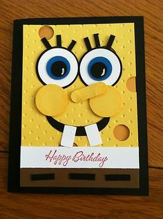 Stampin' Up! Kids Happy Birthday Cartoon Character Card Kit