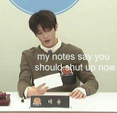 NCT Taeyong meme