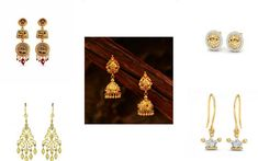 Different Types Of Earring Backs & Tips To Avoid Losing Earrings Gold Mangalsutra Designs, Gold Jewellery Design, Necklace Designs, Ring Designs, Diy Jewelry, Gold Jewelry, Promise Rings For Couples, Types Of Earrings, Indian Weddings