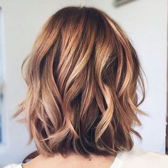 Medium Wavy Hairstyles for Thick Hair - Balayage Hairstyles for Women