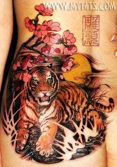 Tiger tattoo inspiration for myself
