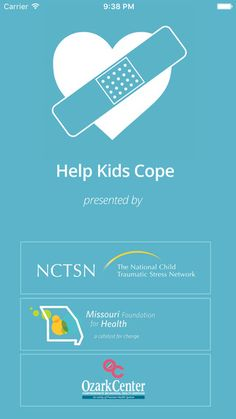 Help Kids Cope < new app to help parents help their kids cope with 10 diff disasters (before, during and after)