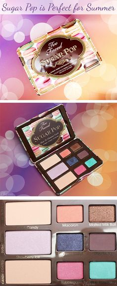 Too Faced Sugar Pop Palette Review. So pretty! | thebeautyspotqld.com.au