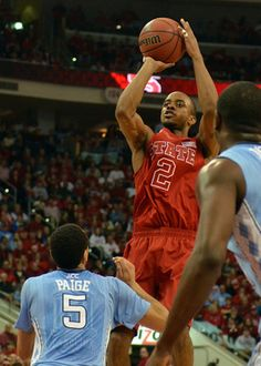 Lorenzo Brown lit up Tar Heels for 20 points and 11 dimes.... whatever... so he had a lucky night!