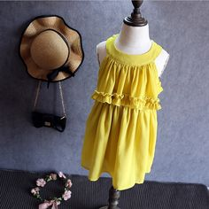 Like and Share if you want this  Korean children in the summer of 2016 the new girl draped Chiffon Dress     Tag a friend who would love this!     FREE Shipping Worldwide     Buy one here---> http://onlineshopping.fashiongarments.biz/products/korean-children-in-the-summer-of-2016-the-new-girl-draped-chiffon-dress/