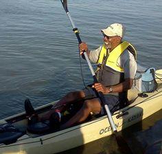 Dana and his Ocean Kayak