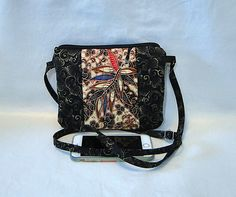 Crossbody Bag, Black, Bella Bag, Mini Bag, Quilted Bag, Woman's Bag, Cell Phone Pocket by rosemontbags on Etsy