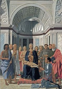 Madonna and Child with Saints  - Piero della Francesca