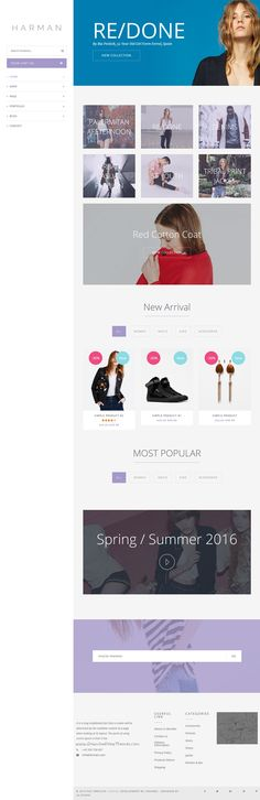 Harman is amazing 6 in 1 WooCommerce #WordPress Theme for multipurpose #eCommerce website. #Download Now!