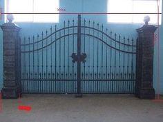 Garden Gates 139948: Nice Cast Iron Estate Designer Victorian Style Driveway Gates Hd51 -> BUY IT NOW ONLY: $7500 on eBay!