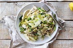 Recipe: A favorite pasta dinner with artichokes, asparagus, peas and Parmesan, from the founder of Purely Elizabeth.