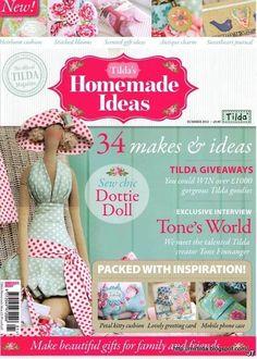 """Мир Тильда: Новая книга Тони Финнангер """"Homemade Ideas"""""""