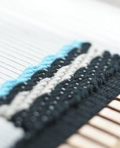 I have been interested in playing around with woven patterns lately and one of the most basic patterns is the twill weave. A twill weave is created by passing the weft thread over two or more warp ...