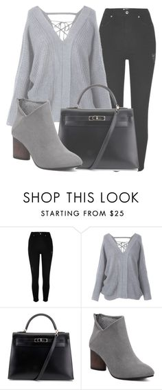 """""""Outfit #1491"""" by lauraandrade98 on Polyvore featuring moda, River Island y Hermès"""
