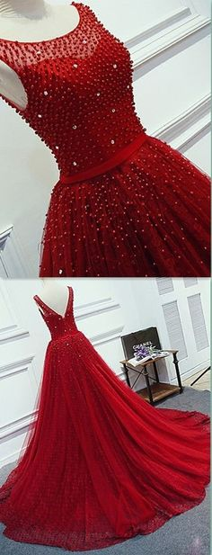 A-Line Beading Prom Dress,Long Prom Dresses,Charming Prom Dresses,Evening Dress . Prom Dresses 2018, Quinceanera Dresses, Evening Dresses, Prom Gowns, Quinceanera Party, Wedding Gowns, Beaded Prom Dress, Dress Prom, Party Dress
