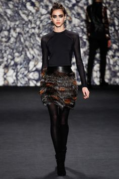 Nicole Miller   Fall 2014 Ready-to-Wear Collection   Style.com