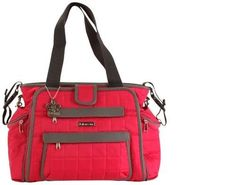 Featherweight Quilted Nylon Vivacious Diaper Bag