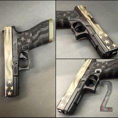 Glock 17 Freedom Stipple Texture Find our speedloader now! www.raeind.com or http://www.amazon.com/shops/raeind