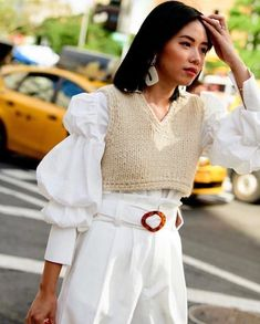 New York Fashion Week Street Style, Spring Street Style, Cool Street Fashion, Street Chic, Paris Street, Spring Style, Spring Summer, New York Style, Fashion 2020