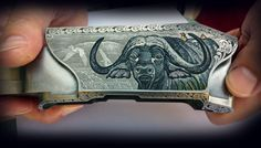 Blaser Custom Shop, R 8 Engraving bulino Italian Style and enamels relief colors by Dassa Engravings Italy