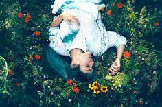 Blumenmädchen, Fotografin: Ida Alva