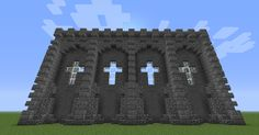 Minecraft Castle Wall Design Minecraft Seeds — Minecraft Seeds ...